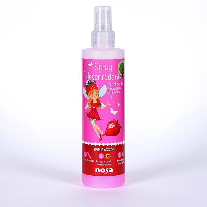 Farmacia Jiménez | Nosa Spray Capilar Árbol del Té olor fresa 250 ml