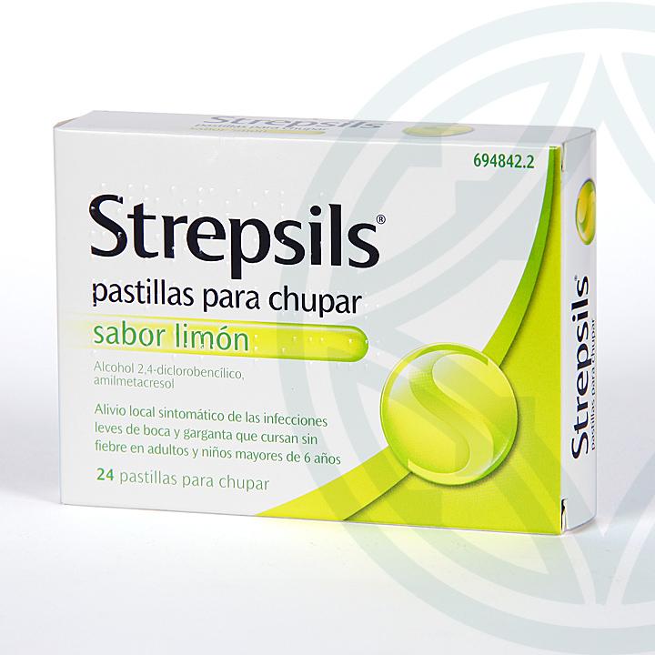 Farmacia Jiménez | Strepsils 24 pastillas sabor limón
