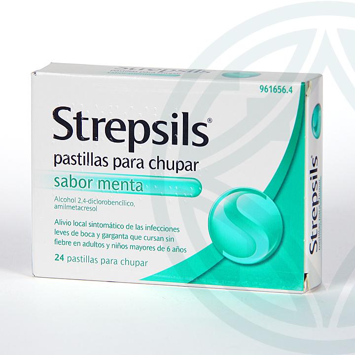 Farmacia Jiménez | Strepsils 24 pastillas sabor menta
