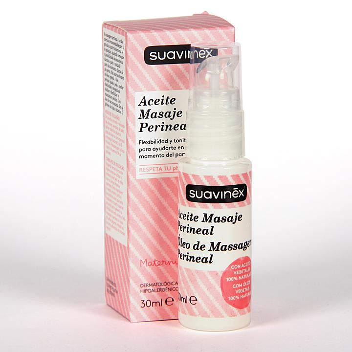 Farmacia Jiménez | Suavinex Aceite Masaje Perineal Prenatal 30 ml