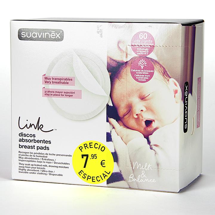 Farmacia Jiménez | Suavinex Discos Absorbentes 60 unidades