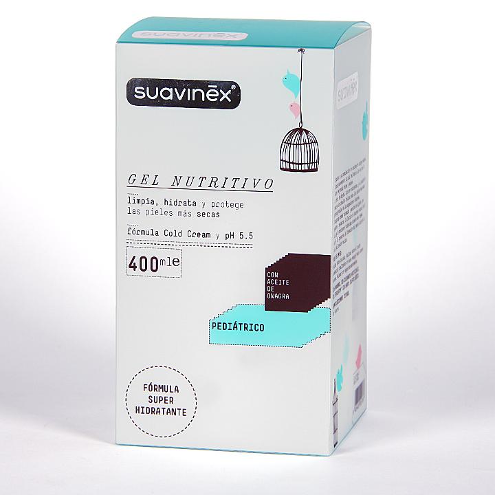 Farmacia Jiménez | Suavinex Gel Nutritivo 400 ml