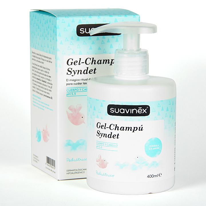 Farmacia Jiménez | Suavinex Gel-Champú Syndet 400 ml