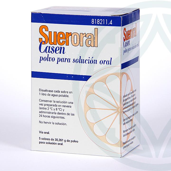 Farmacia Jiménez | Sueroral Casen 5 sobres