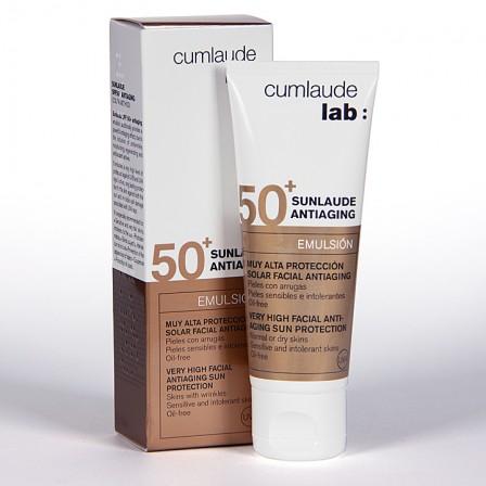Farmacia Jiménez | Cumlaude Sunlaude Antiaging SPF50+ Emulsión 50 ml