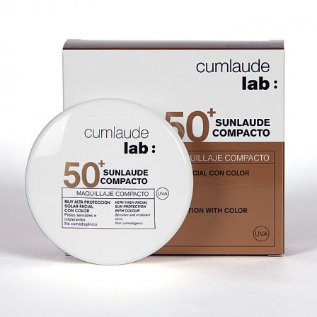Farmacia Jiménez | Cumlaude Sunlaude Maquillaje Compacto 50+ medium 10g