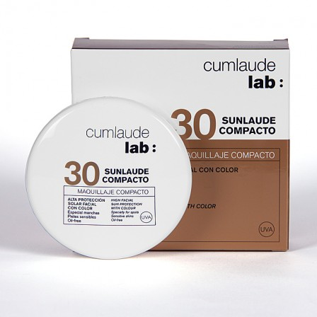 Farmacia Jiménez | Cumlaude Sunlaude Maquillaje Compacto SPF30 10g