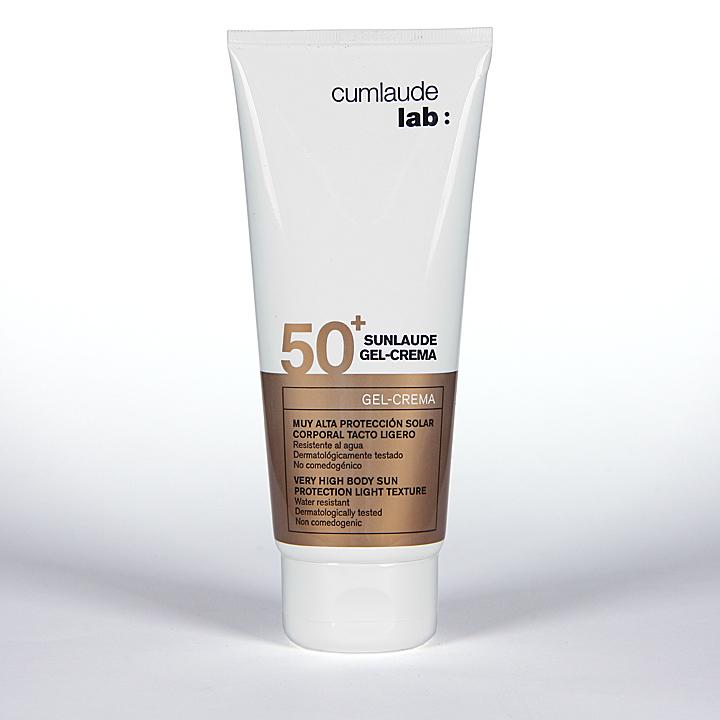 Farmacia Jiménez | Cumlaude Sunlaude SPF50+ Gel-Crema facial y corporal 200 ml