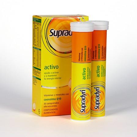 Farmacia Jiménez | Supradyn Activo 30 comprimidos efervescentes