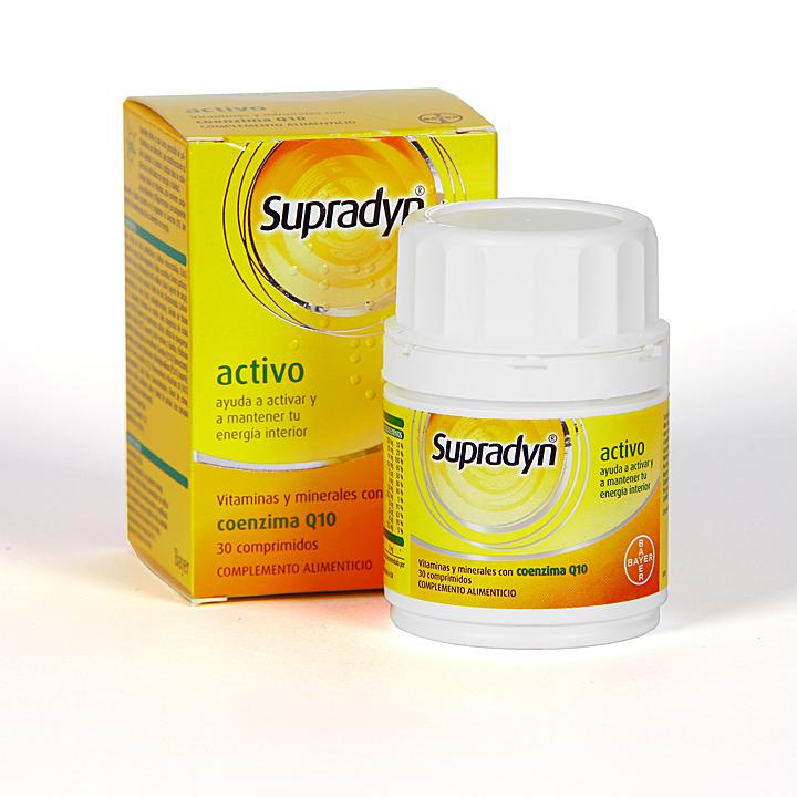 Farmacia Jiménez | Supradyn Activo 30 comprimidos