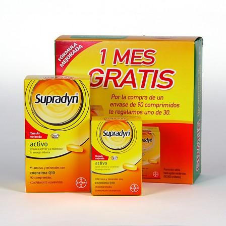 Farmacia Jiménez | Supradyn Activo 90 comprimidos + 30 comprimidos