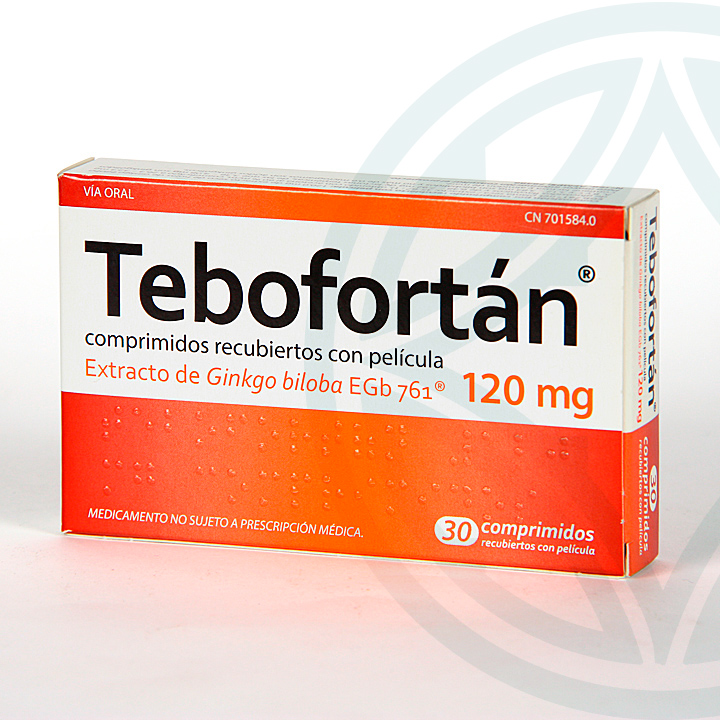 Farmacia Jiménez | Tebofortan 120 mg 30 comprimidos