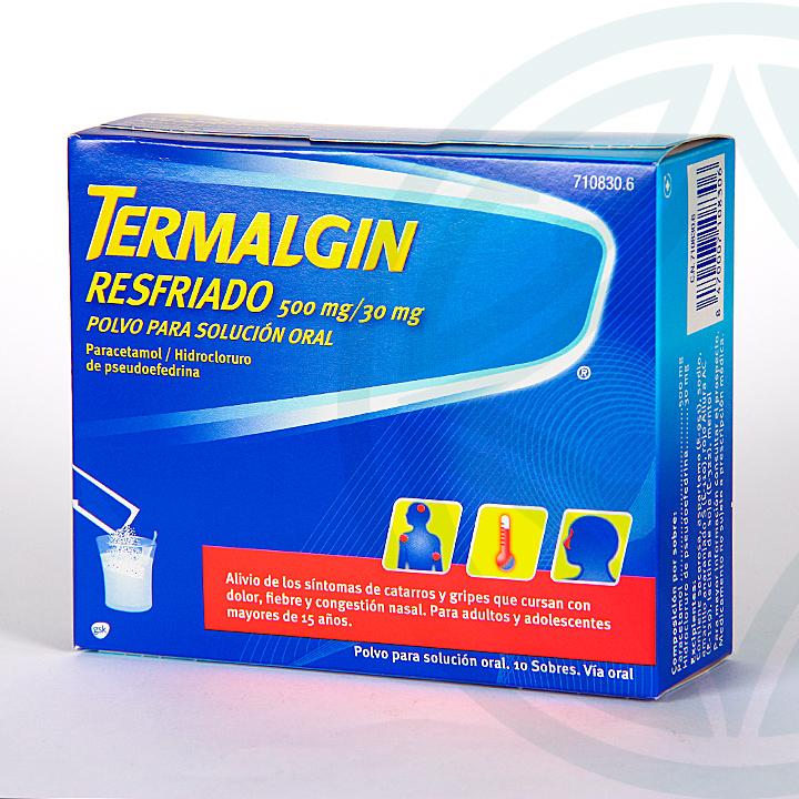 Farmacia Jiménez | Termalgin Resfriado 10 sobres