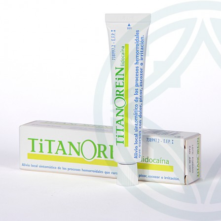 Farmacia Jiménez | Titanorein Lidocaina crema rectal