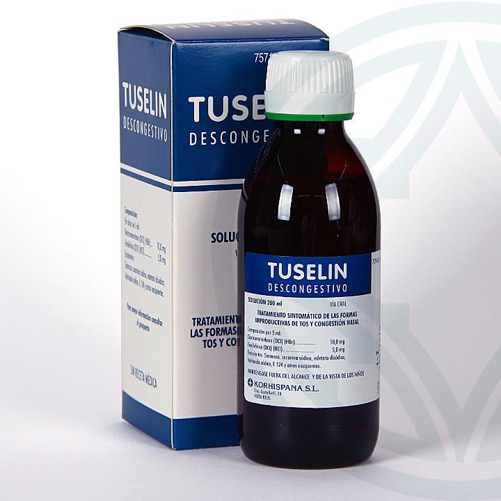 Farmacia Jiménez | Tuselin Descongestivo jarabe 200 ml