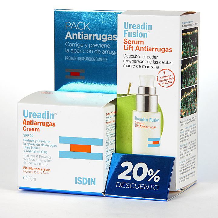 Farmacia Jiménez | Ureadin Crema Antiarrugas Piel Normal-Seca + Serum Lift Pack