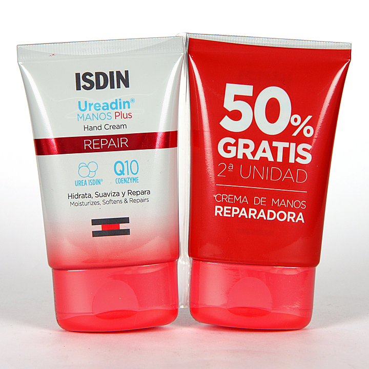 Farmacia Jiménez | Ureadin Crema de Manos Plus Repair Pack Duplo 50 ml