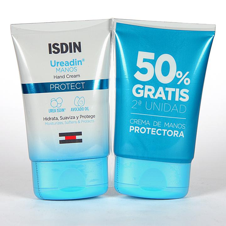 Farmacia Jiménez | Ureadin Crema de manos Protect 50 ml Pack Duplo