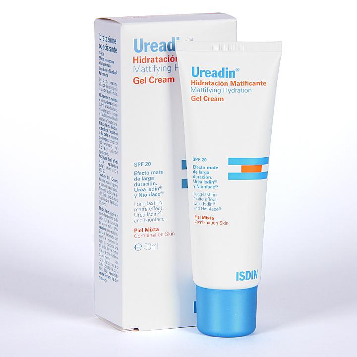 Farmacia Jiménez | Ureadin Gel Crema Facial Hidratante Matificante SPF 20 50 ml