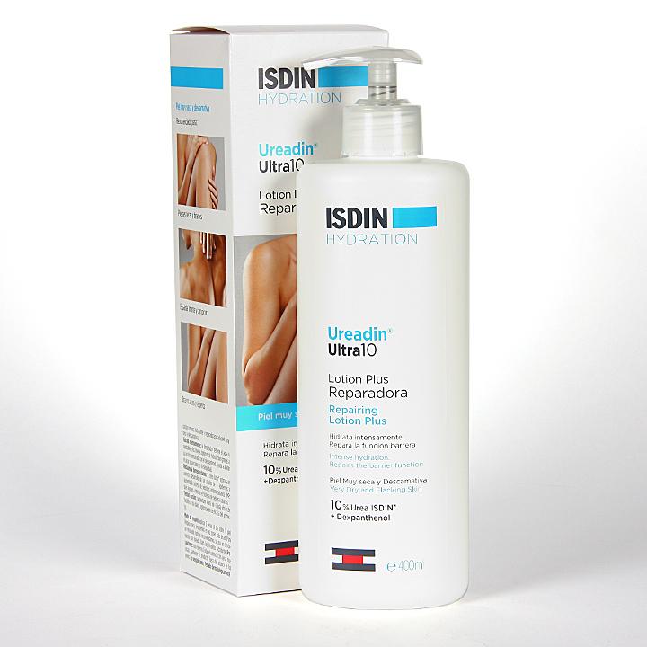 Farmacia Jiménez | Isdin Hydration Ureadin Ultra 10 Lotion Plus Reparadora 400 ml