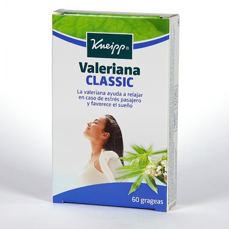 Farmacia Jiménez   Valeriana Kneipp Classic 60 grageas