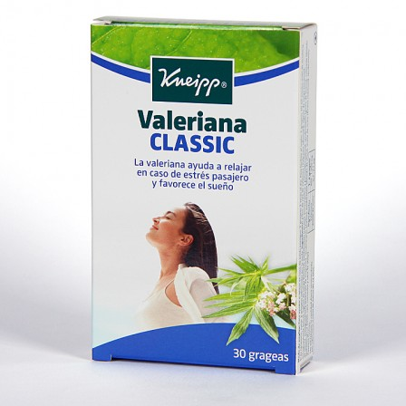 Farmacia Jiménez | Valeriana Kneipp Classic 30 grageas