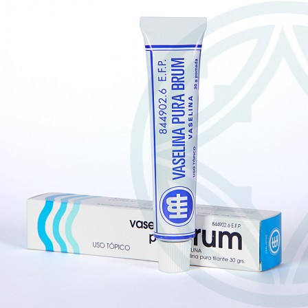 Farmacia Jiménez | Vaselina Brum 100% pomada 30 g