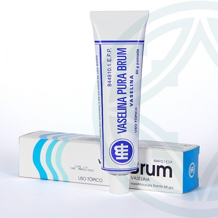Farmacia Jiménez | Vaselina Brum 100% pomada 60 g