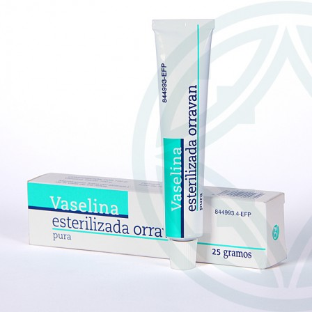 Farmacia Jiménez | Vaselina Esterilizada Orravan 25 g