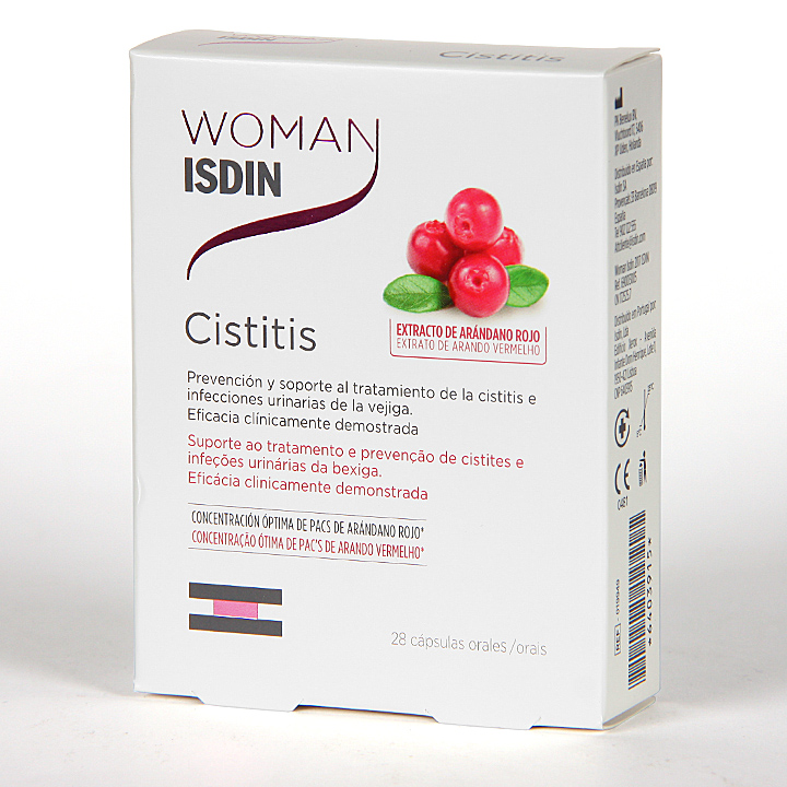 Farmacia Jiménez | Woman Isdin Cistitis 28 Cápsulas