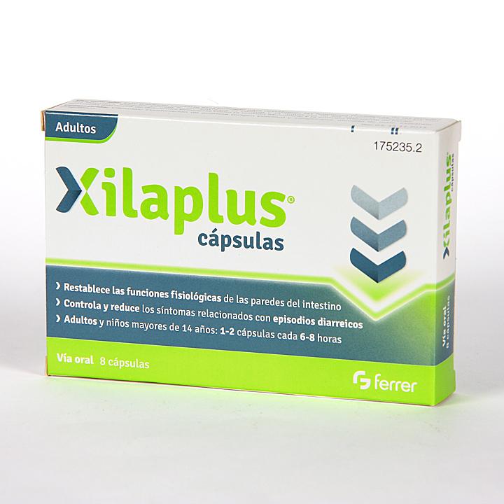 Farmacia Jiménez | Xilaplus Antidiarreico 8 cápsulas