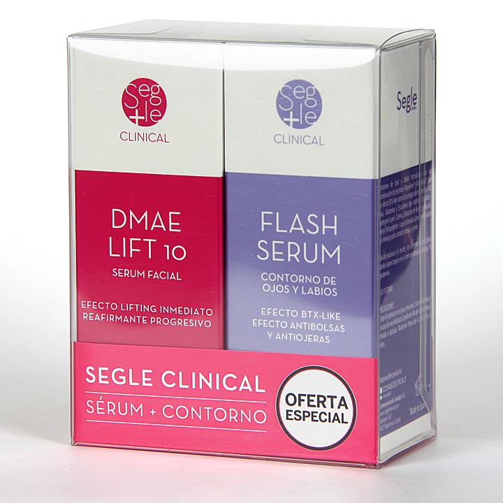 Farmacia Jiménez | Segle Clinical Dmae Lift 10 Serum + Flash Serum Contorno de ojos Pack