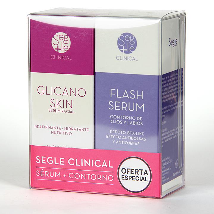 Farmacia Jiménez | Segle Clinical Glicano Skin + Flash Serum Contorno de ojos Pack