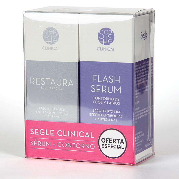 Farmacia Jiménez | Segle Clinical Restaura Serum + Flash Serum Contorno de ojos Pack