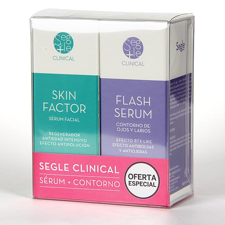 Farmacia Jiménez | Segle Clinical Skin Factor Serum + Flash Serum Contorno de ojos Pack