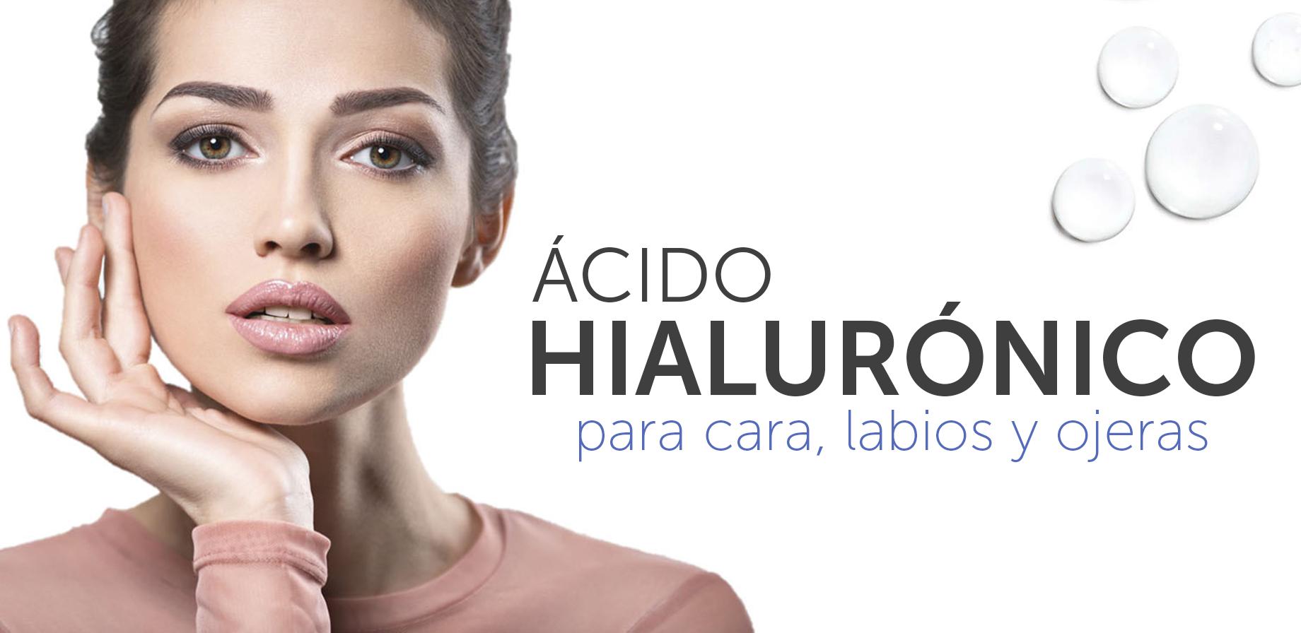 Los mejores productos con Ácido hialurónico para cara, labios y ojeras en Farmacia Jiménez