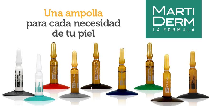 Ampollas Martiderm, ¿sabes cuál es la mejor para tu piel? ¡Te hablamos sobre todas!