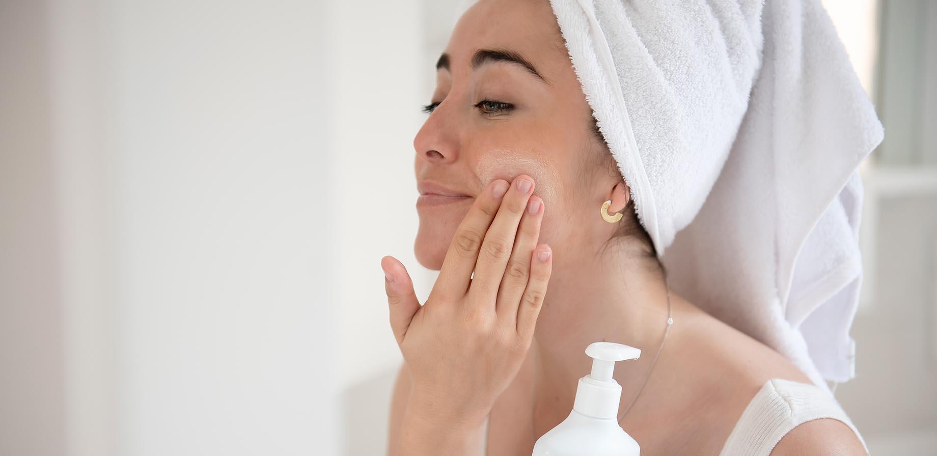 La higiene de las pieles grasas y acnéicas