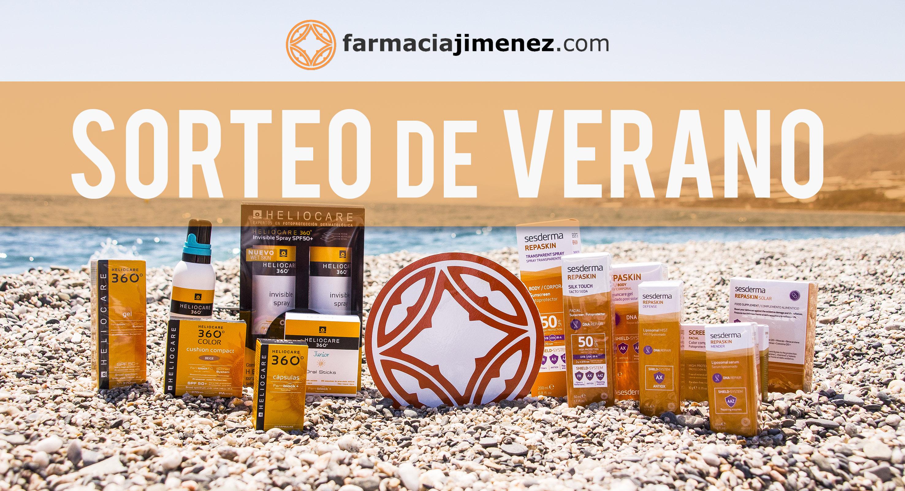¡Sorteo de Verano de Farmacia Jiménez 2018!