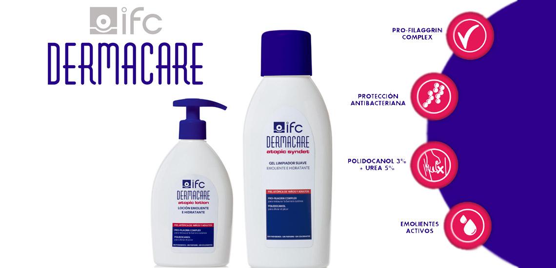 Dermacare IFC: El mejor cuidado para la piel atópica.