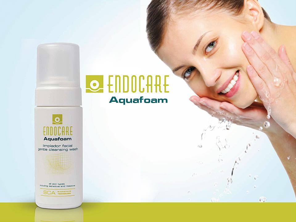 Endocare Aquafoam el limpiador dermatológico perfecto
