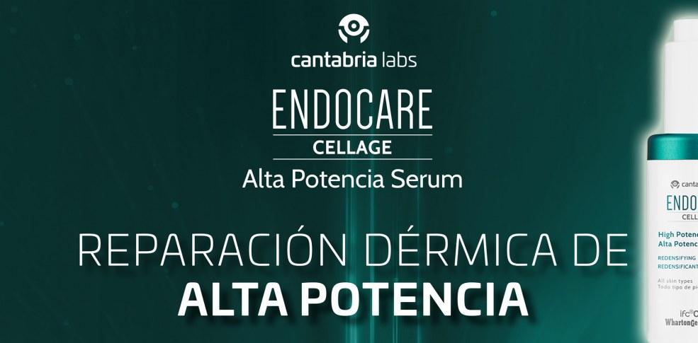 Endocare Cellage completa su gama antiedad con el nuevo Serum Alta Potencia