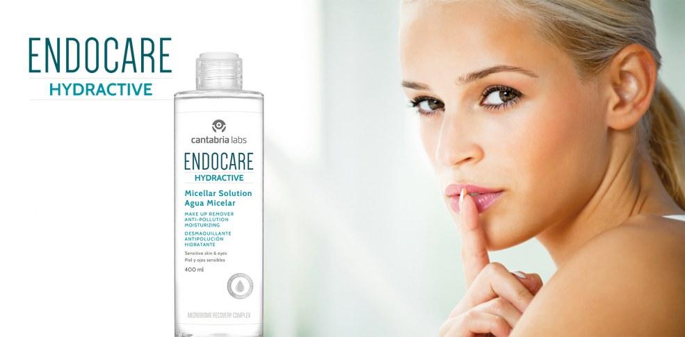 Endocare Hydractive Agua Micelar, confort y vitalidad para tu piel