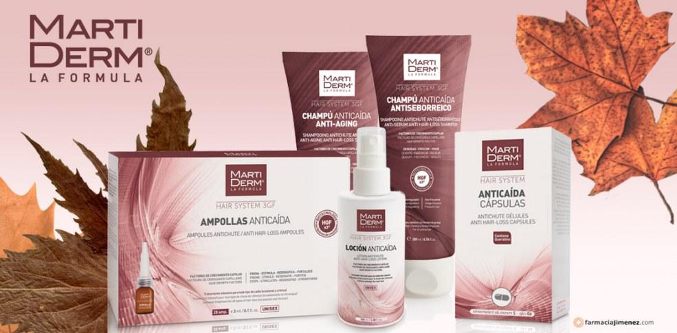 ¡Frena la caída del cabello! Nueva gama capilar Martiderm