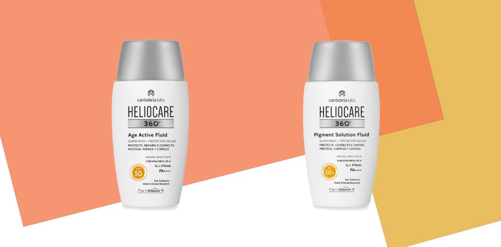 Heliocare 360 Age Active Fluid & 360 Pigment Fluid, los fotoprotectores antiedad y antimanchas avanzados