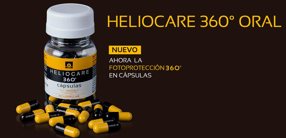 Heliocare 360º cápsulas, la evolución en fotoprotección oral
