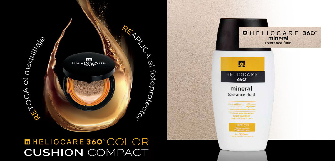 Heliocare 360º Cushion y Heliocare 360º Mineral