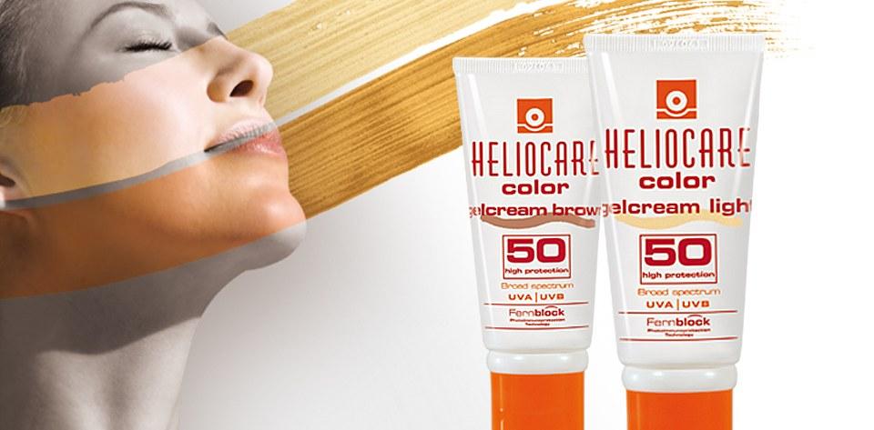 Heliocare gel crem SPF 50 color light
