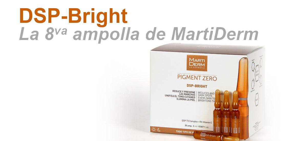 Martiderm Pigment Zero Ampollas DSP-Bright