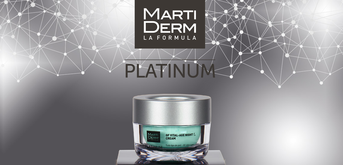 Martiderm GF Vital Age Night Cream, ¿Flacidez? Ya NO!